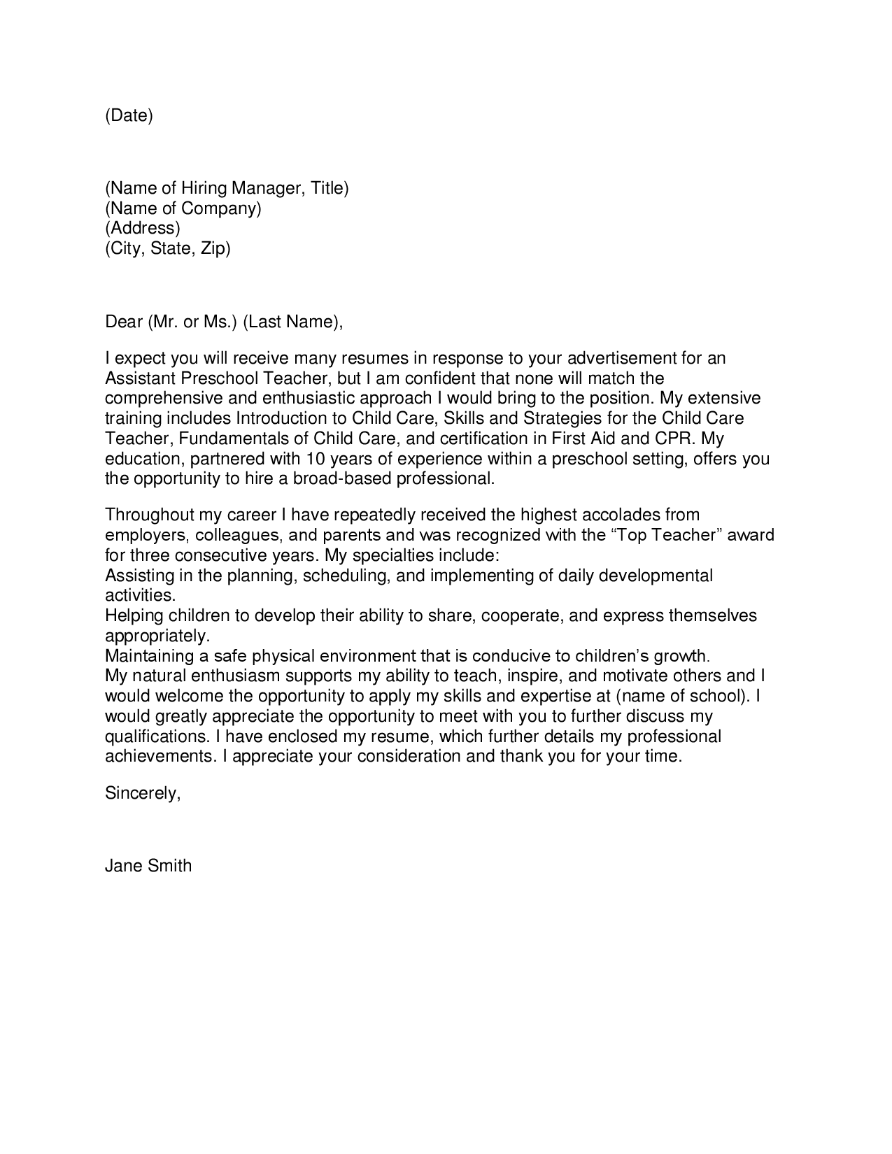 Cover Letter Sample Doc from workalpha.com