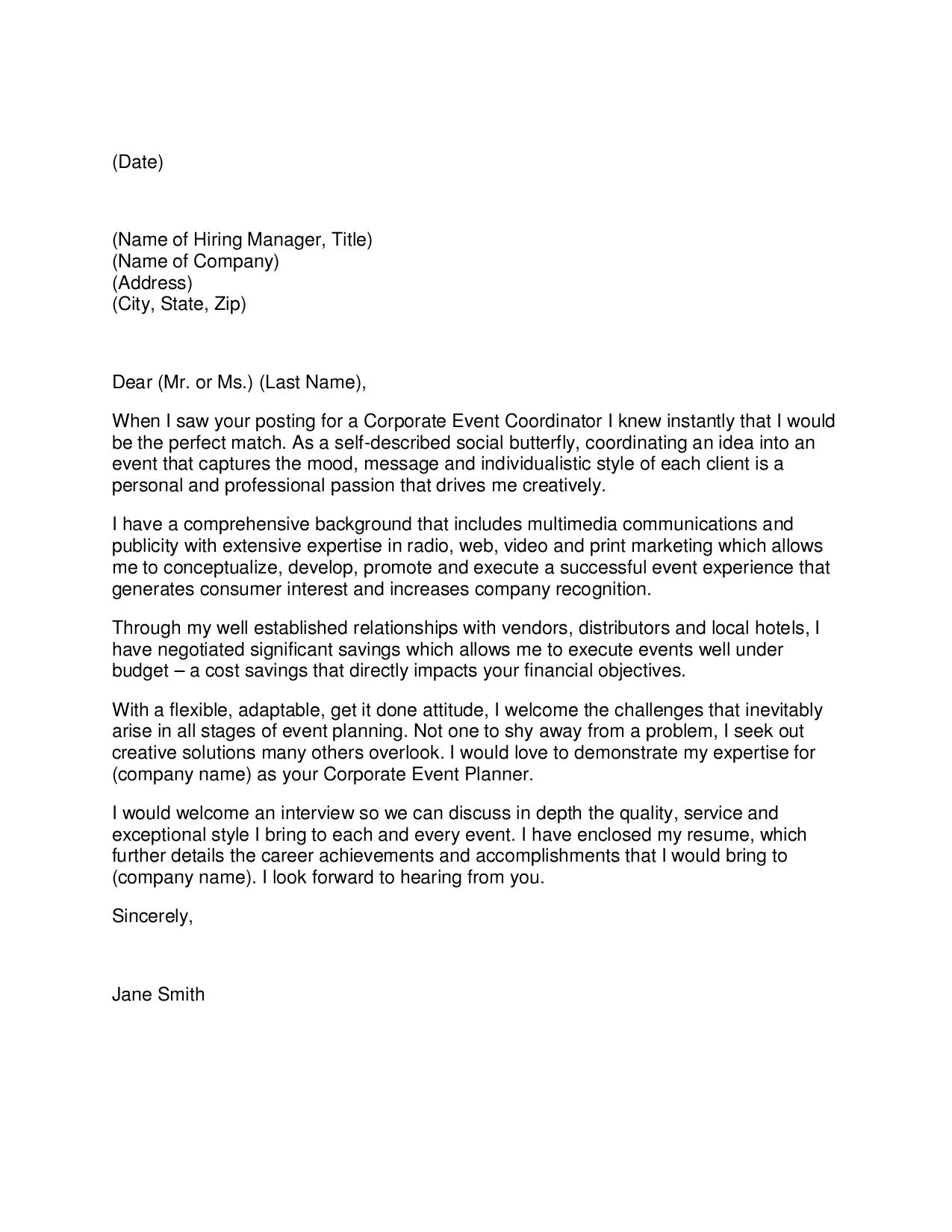 Sample Rfp Response Letter from workalpha.com