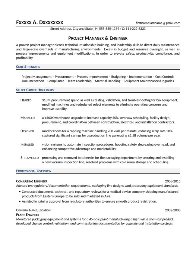mechanical project engineer resume sle 28 images sle